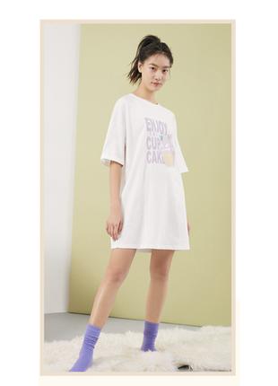 Домашнее платье-футболка only, s-m