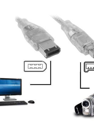 Кабель FireWire (IEEE 1394) 6p/4p