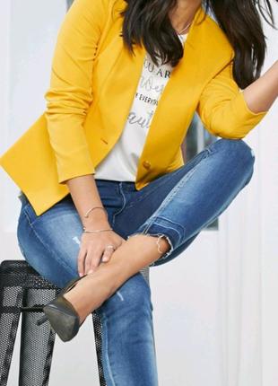 Жакет жёлтый Vero moda