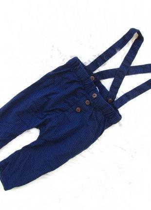 Стильные  штаны брюки с подтяжками tape a  loeil