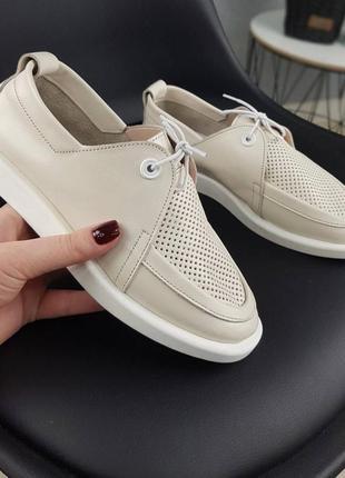 Оочень мягкие и комфортные ❤️ туфли женские натуральная кожа з...