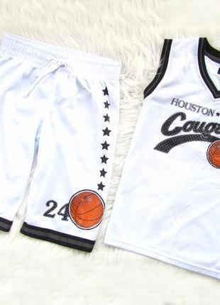 Стильный и качественный комплект футболка и шорты rebel