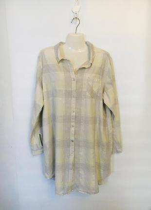 Рубашка платье для дома, для сна размер 20