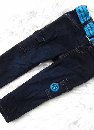 Стильные джинсы штаны брюки с ремнем  oboibi