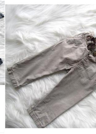 Штаны с подтяжками  matalan для мальчика
