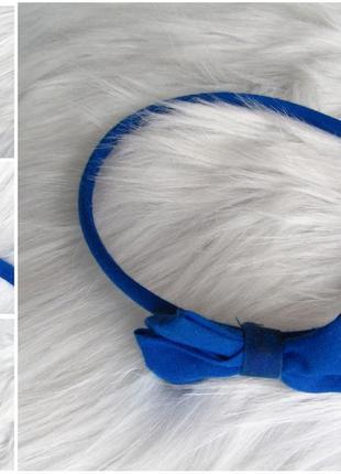 Обруч ободок для волос с бантом