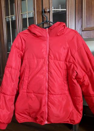 Двусторонняя куртка осень-зима