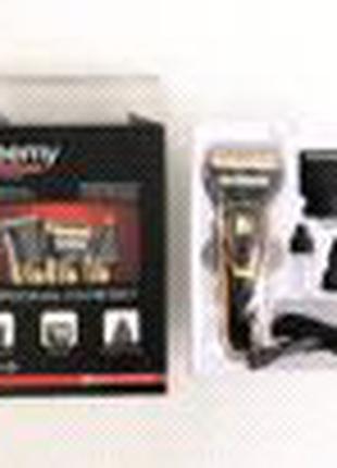Электробритва сеточная и тример для бороды GM-595 с акамулятором