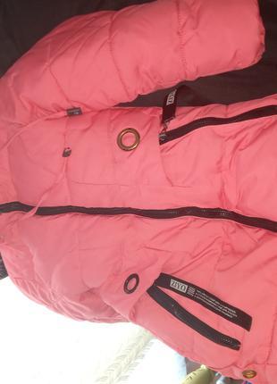 Куртка зимова на флісі,дуже тепла
