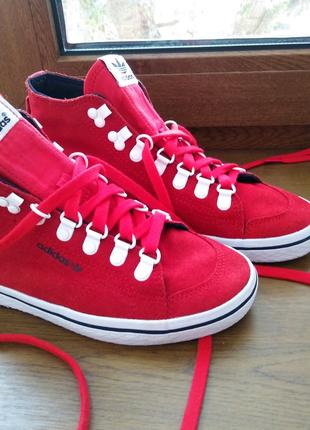 Кеды красные Adidas