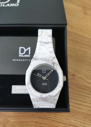 Часы Италия D1 Milano Monochrome Marble