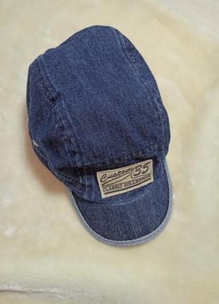 Бейсболка, кепка , детская кепка   джинсовая кепка.