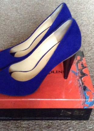 Туфли замшевые Carlo Pazolini, размер 39