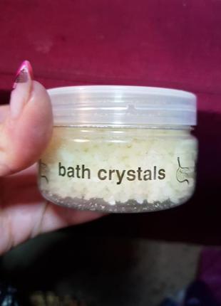 Соль для ванны naturelle spa