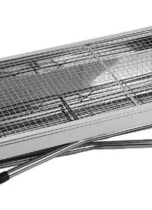 Переносной мангал BBQ-5002 48х34х59см угольный металлический