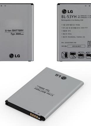 Аккумулятор LG BL-53YH D855 G3 / D690 G3 Stylus / D856 G3 Dual-LT
