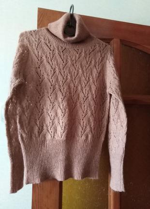 Ажурный свитер Oodji