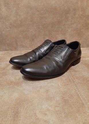 Мужские кожаные туфли (41-й размер)