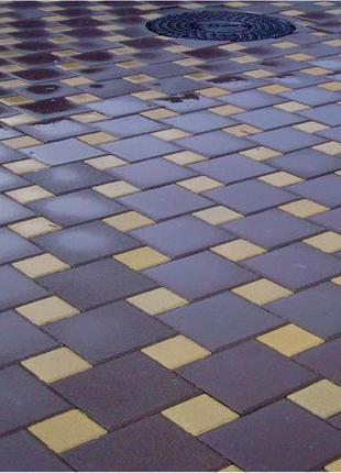 "Тротуарная плитка ""Мозаика"" от компании Unikfem"