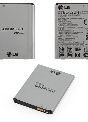 Аккумулятор LG BL-52UH D280 (L65) / D285 / D320 (L70) / D321 / D3