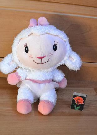 Мягкая игрушка овечка плюшевой, овечка доктор плюшева