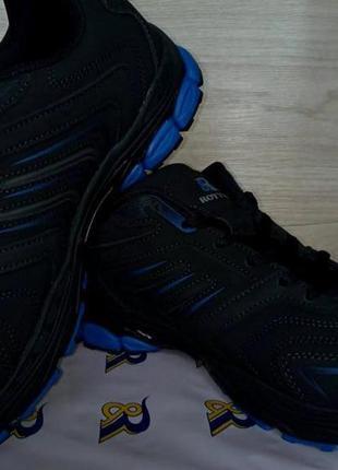 Мужские кроссовки демисезонные кожаные новые первостатейные