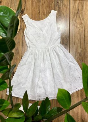 Хлопковое платье new look