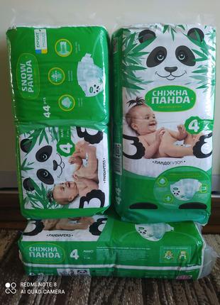 Подгузники памперсы Снежная панда новые