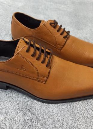 Нові шкіряні брендові туфлі преміум класу jean-louis scherrer ...