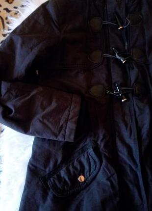 Куртка парка с мехом демисезон еврозима