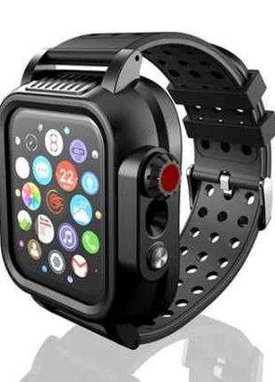 Водонепроницаемый IP68 противоударный чехол Apple Watch 4 5 6 ...