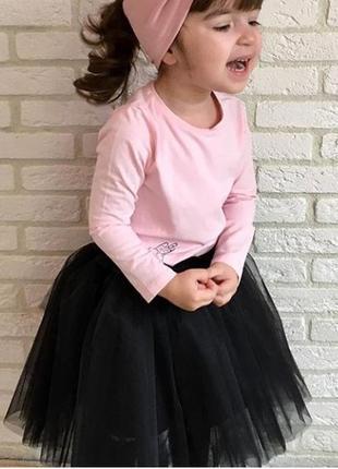 Пышная юбка пачка для девочки из евро-фатина