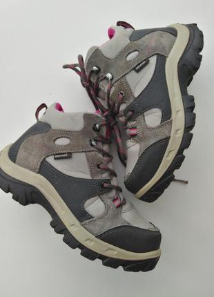 Треккинговые ботинки quechua decathlon (novadry) 34 размер
