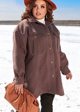 Пальто 858527 рубашка