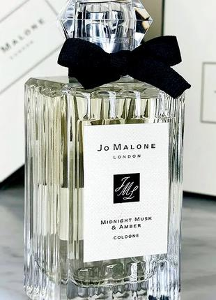 Jo Malone Midnight Musk & Amber Оригинал Cologne  3 мл Затест