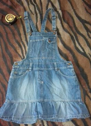 Джинсовая юбка мини,комбинезон