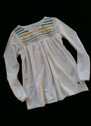 Туника/блуза lulu castagnette (франция) на 9-10 лет (размер 13...