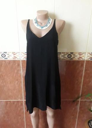 Черное плать сарафан