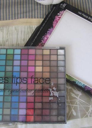 Большая палетка теней elf 144 piece ultimate eyeshadow palette
