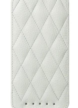 Чехол Vetti Craft Slim Flip HTC One Dual Sim-Diamond Series White