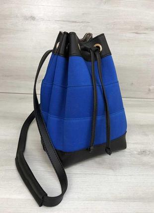 Сумка-рюкзак резинка электрик