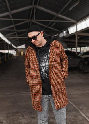 Мужское стильное пальто
