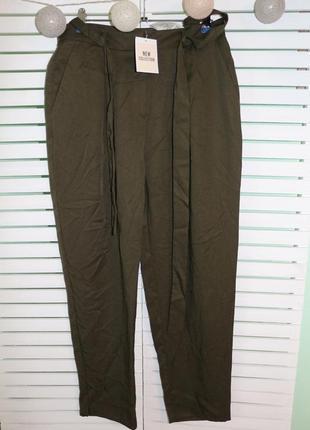 Брюки штаны с высокой талией orsay