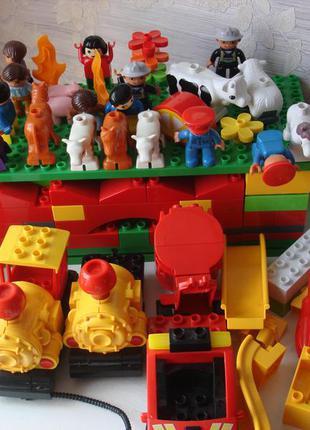 Конструктор lego (железная дорога)