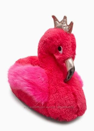 Тапочки розовый фламинго некст