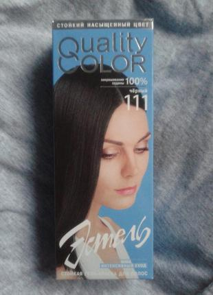 Крем-краска для волос #чёрный