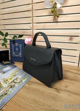 Красивая сумочка-клатч черного цвета