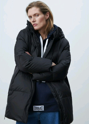 Пуховик оверсайз Zara размер XS