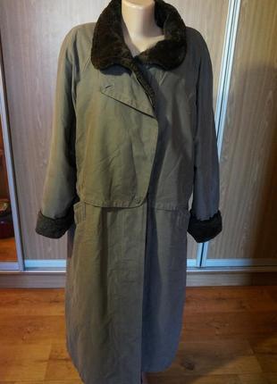 Суперское пальто на меху
