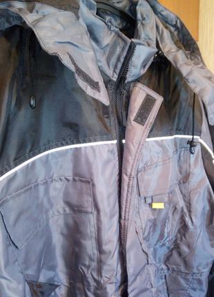 Куртка утепленная СВАН. Большой размер. СУПЕР ЦЕНА.